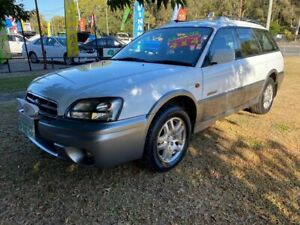 2001 Subaru Outback B3A MY02 D/Range AWD White 5 Speed Manual Wagon Clontarf Redcliffe Area Preview