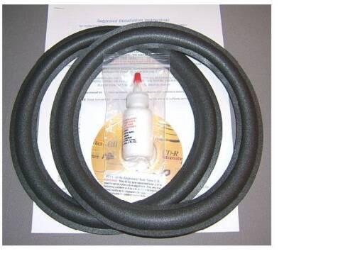 JBL 125A, 127, 127H1, 310G, 4410A, L26/A, L36 Foam Surround Woofer Repair Kit