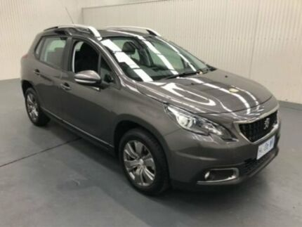 2018 Peugeot 2008 A94 MY18 ACTIVE Grey Sports Automatic Wagon Moonah Glenorchy Area Preview