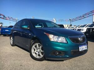 2012 Holden Cruze JH MY13 CD Chlorophyll 6 Speed Automatic Hatchback Maddington Gosnells Area Preview