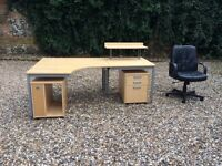 Desk / Filing Cabinet / Chair - together or separately.