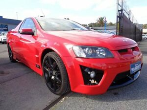 2008 Holden Special Vehicles Maloo E Series MY08 Upgrade R8 Red 6 Speed Manual Utility Pooraka Salisbury Area Preview