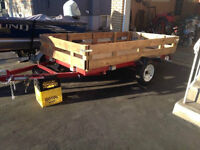 4x8' trailer, new, never used