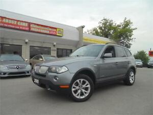 2009 BMW X3  3.0I  **PANORAMIC ROOF**
