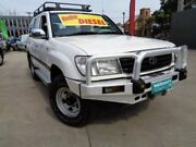 2000 Toyota Landcruiser HZJ105R GXL White 5 Speed Manual Wagon Enfield Port Adelaide Area Preview