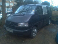 Volkswagen Caravelle SWB 2.4 diesel double sliding doors for repair spares parts camper conversion