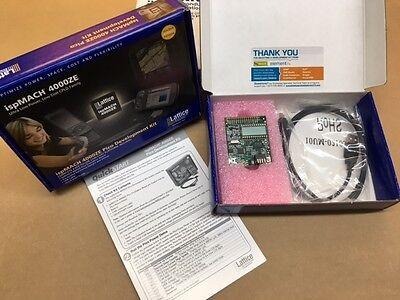 Lc4256ze-p-evn Lattice Development Kit Ispmach 4000ze Pico Usb Cpld Board