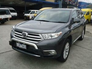 2012 Toyota Kluger GSU40R MY12 Altitude (FWD) 7 Seat Grey 5 Speed Automatic Wagon Canada Bay Canada Bay Area Preview