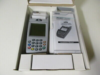 Lipman Nurit 8000 Pos Credit Card Terminal