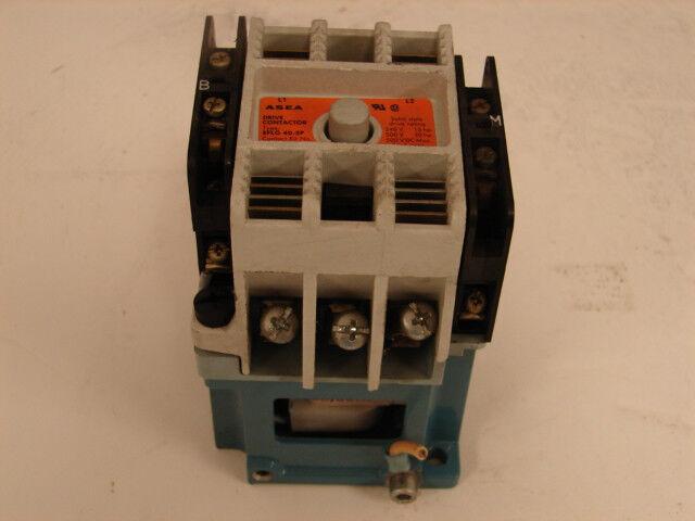 ASEA EFLG 40-3P  DRIVE CONTACTOR 120 VAC COIL 240V-15HP 500V-30HP ***XLNT***