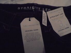 Brand new with tags indigo jeans - size 12 short