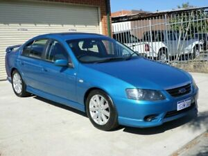 2008 Ford Falcon BF Mk II SR Blue 4 Speed Sports Automatic Sedan Mount Lawley Stirling Area Preview