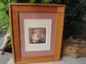 ~ PICTURE BY NANCY NOEL ~ AMISH BOY WITH BABY CHICK ~ $59.99 ~