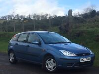 2003 FORD FOCUS 1.8 TDDI DIESEL 5 DOOR 101247 MILES MOTD EXCELLENT CONDITION SERVICE HISTORY