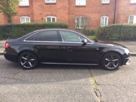 AUDI A4 2.0 TDI S LINE, 2009, 170 BHP, FULL HISTORY. GREAT CONDITION £6500