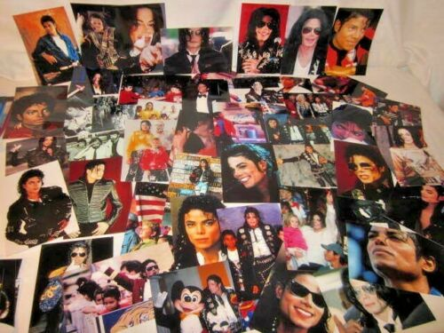 200 Vibrant 4 X 6 photos of Michael Jackson & Jackson 5 spanning 40+ years!
