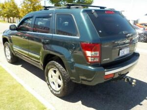 2007 Jeep Grand Cherokee WH Limited Green Auto Active Select Wagon