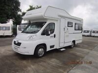 2006 ELDDIS SUNTOR 140 4 BERTH MOTORHOME 2007 MODEL WITH NEW CAB ANDERSON CARAVAN SALES