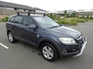2007 Holden Captiva 4x4 Wagon Turbo Diesel 5 Speed Manual Springwood Logan Area Preview