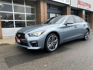 2014 INFINITI Q50 SPORT NAVIGATION ONE OWNER