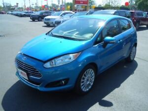 2014 FORD FIESTA TITANIUM- SUNROOF, REAR VIEW CAMERA, BACKUP SEN