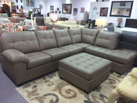 BRAND NEW CANADIAN MADE SECTIONAL WITH 400+ COLOUR CHOICES