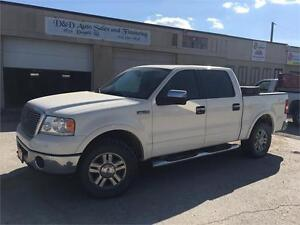 2008 Ford F-150 Lariat-LEATHER-SUNROOF-HTD SEATS-ALLOYS