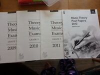 NEW Grade 5, Grade 4, Grade 3, Music Theory Past Papers - 4 papers for each grades