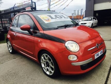 2008 Fiat 500 POP 5 Speed Manual Hatchback Brooklyn Brimbank Area Preview