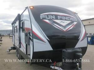 *2018 FUN FINDER 21RB COUPLES TRAVEL TRAILER FOR SALE*LUXURY