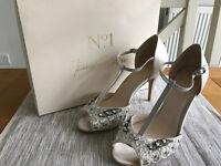 Jenny Packham No.1 Bridal Shoes Size UK 7