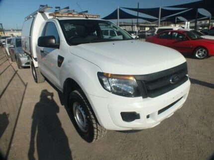 2012 Ford Ranger PX XL 2.2 HI-Rider (4x2) White 6 Speed Automatic Cab Chassis Bohle Townsville City Preview