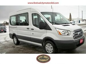 2016 Ford Transit Wagon XLT Balance of Factory Warranty!