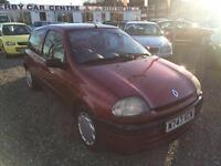 2000 RENAULT CLIO 1.4 Alize LOW INSURANCE 12 MONTHS MOT AVAILABLE