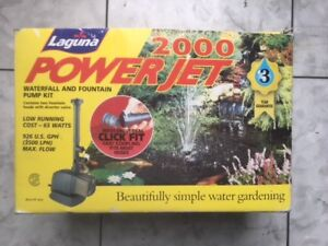 Laguna 2000 Powerjet Waterfall and Fountain Pump Kit