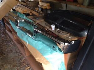 04-05 FORD F150 REAR CHROME STEP BUMPERS