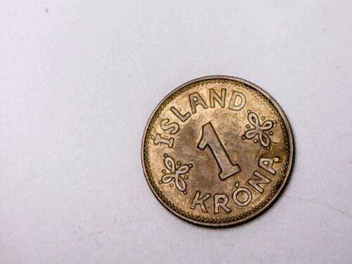 1940 Iceland 1 Krona - XF
