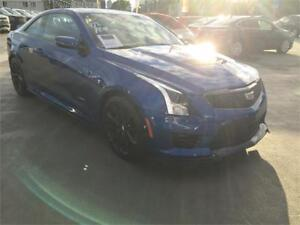 NEW 2018 Cadillac ATS-V Coupe VECTOR BLUE FINANCE @ 0 %