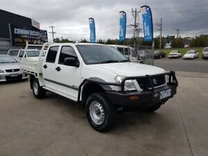 2006 Holden Rodeo RA MY06 Upgrade LX (4x4) 5 Speed Manual Crew Cab Chassis
