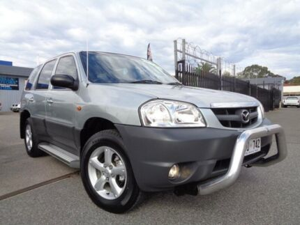 2004 Mazda Tribute Limited Sport Silver 4 Speed Automatic Wagon