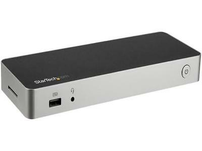 StarTech.com DK30CHDDPPD Dual Monitor USB C Dock / 60W Power Delivery / 4K DP /