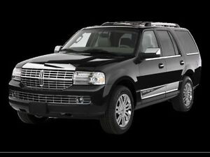 Lincoln Navigator hood and bumper