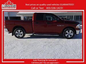 2010 Dodge Ram Quad Cab 1500 SLT Remote starter 4X4 REDUCED
