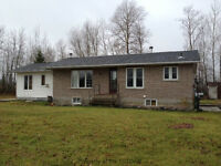 Country Home with Large Garage in a Great Location off Hwy 11