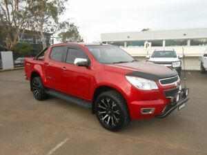 2016 Holden Colorado RG MY16 Storm Crew Cab Red 6 Speed Sports Automatic Utility Nowra Nowra-Bomaderry Preview