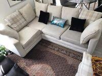 Cream corner sofa - Good condition £300 ono