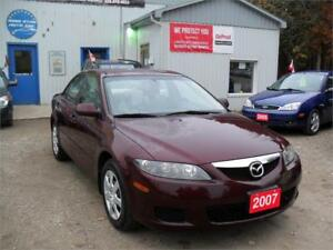 2007 Mazda Mazda6 GT| ONLY 121 KM| MUST SEE| NO RUST|