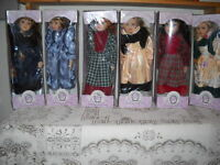 12 Porcelin Dolls