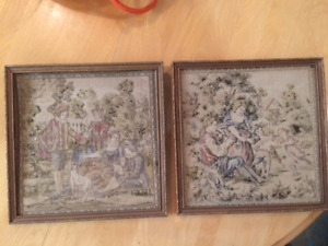French Tapestry Picture