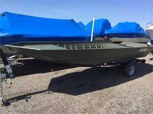 AlumaCraft MV1648 NCS, Yamaha F30SMHA, and trailer